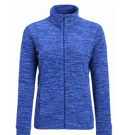 Custom Cascade Ladies Marled Fleece Jacket