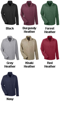 Mens Bristol Half-Zip Sweater Fleece - All Colors
