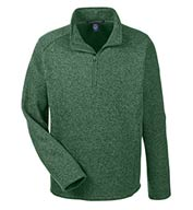 Custom Mens Bristol Half-Zip Sweater Fleece