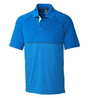 Custom Mens CB DryTec� Junction Stripe Hybrid Polo