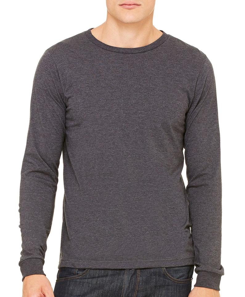 Mens Made in the USA Jersey Long-Sleeve T-Shirt