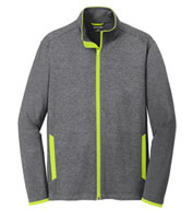 Custom Mens Sport-Tek Stretch Contrast Full-Zip Jacket Mens