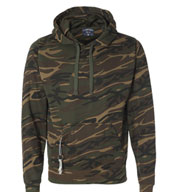 J. America Tailgate Poly Hooded Fleece