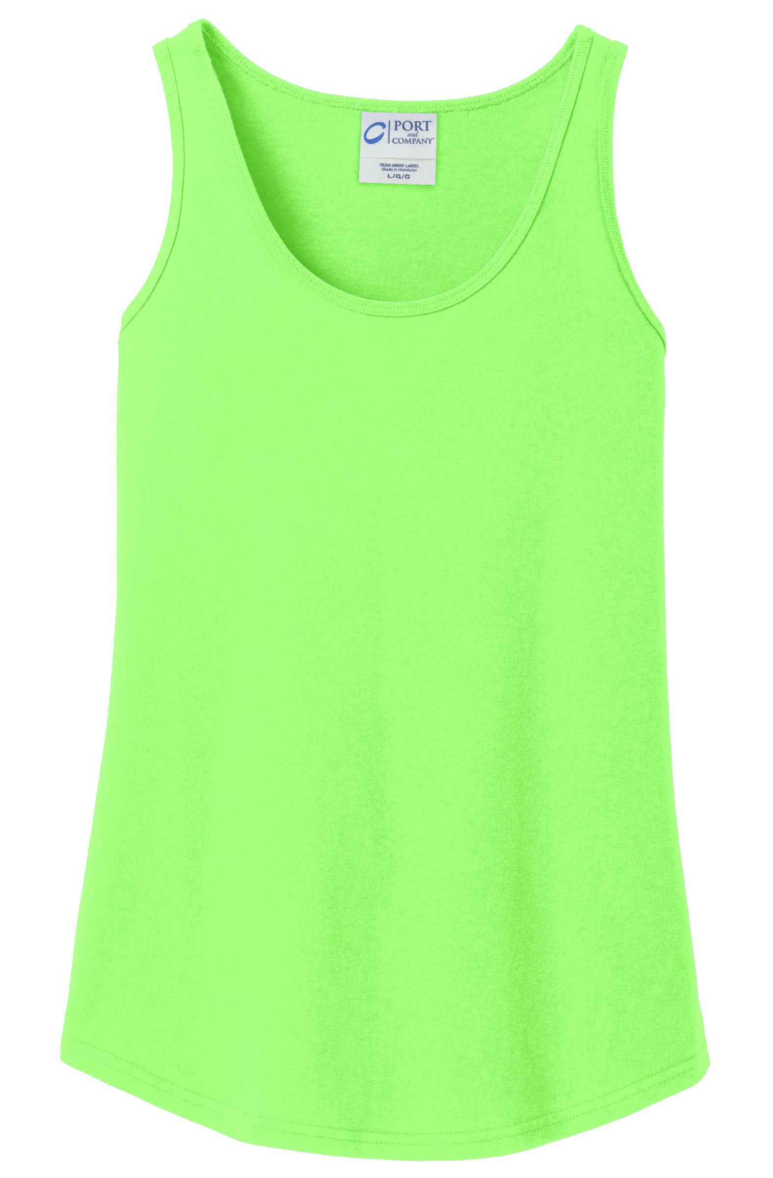 Ladies 100% Cotton Tank Top