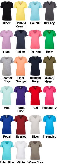 Next Level The Ideal V  Ladies Tee  - All Colors
