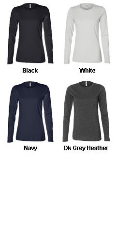 Bella Ladies Relaxed Jersey Long Sleeve Tee - All Colors