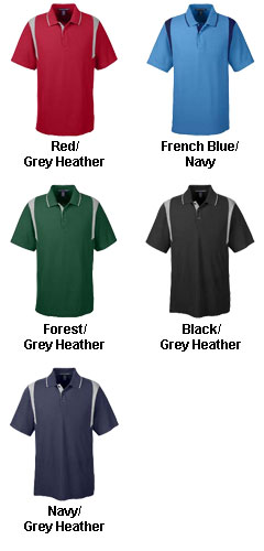 Mens Drytec20� Performance Colorblock Polo - All Colors