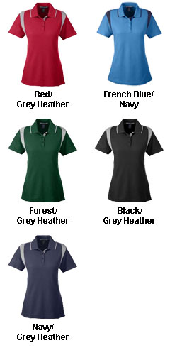Ladies Drytec20� Performance Colorblock Polo - All Colors