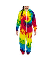 Custom Youth Tie Dye All-in-One Loungewear