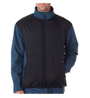 Ultra Club Soft Shell Jacket With Quilted Front & Back