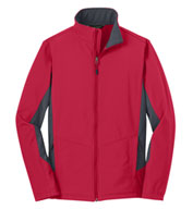 Custom Adult Core Colorblock Soft Shell Jacket in Tall Sizes Mens