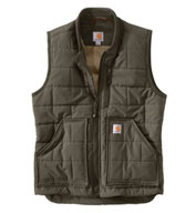 Custom Carhartt Brookville Water Repellent Vest Mens