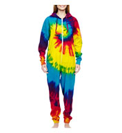 Custom Adult Tie Dye All-in-One Loungewear