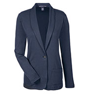 Custom Devon & Jones Ladies Perfect Fit Shawl Collar Cardigan