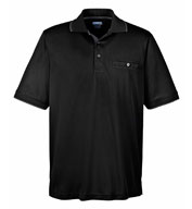 Mens Motive Performance Pique Polo  with Tipped Collar