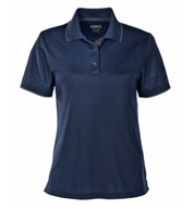 Custom Ladies Motive Performance Pique Polo with Tipped Collar