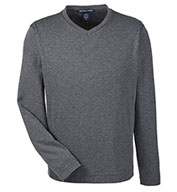 Custom Mens Fairfield Herringbone V-Neck Pullover