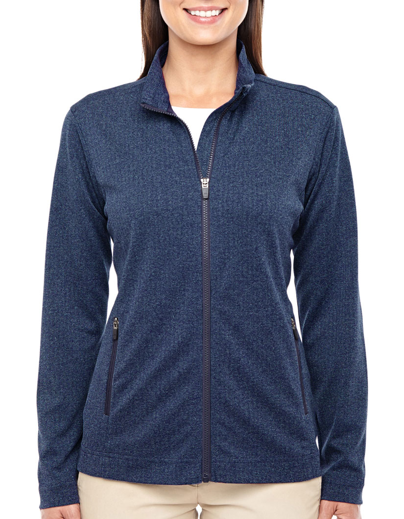 Ladies Fairfield Herringbone Full-Zip Jacket