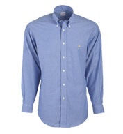 Brooks Brothers 346 Mens Button-Down Collar Non-Iron Oxford Long Sleeve Sport Shirt