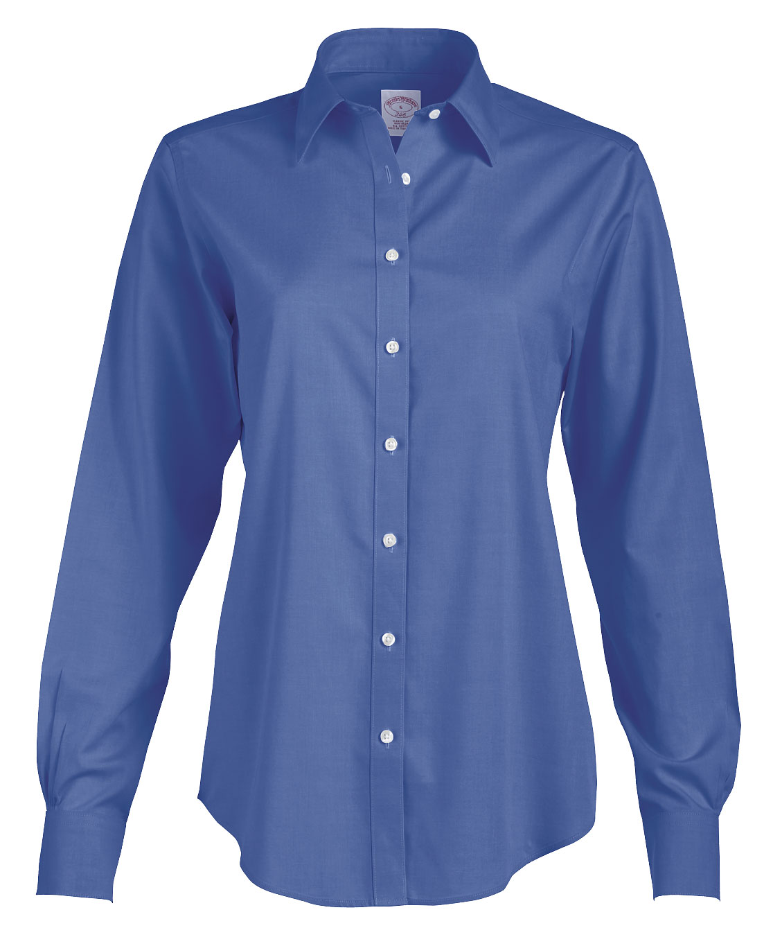 Brooks Brothers 346 Womens Non-Iron Pinpoint Dress Shirt