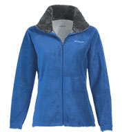 Custom Columbia Ladies Dotswarm II Fleece Full-Zip Jacket