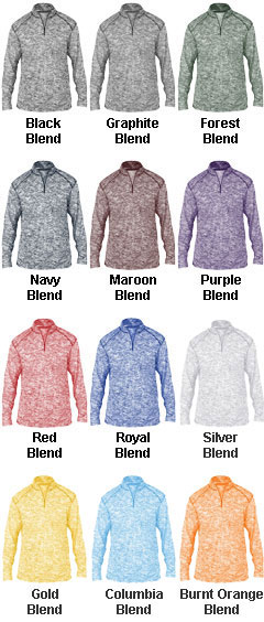 Mens Blend 1/4 Zip Pullover - All Colors
