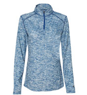 Custom Ladies Blend 1/4 Zip Pullover