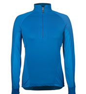 Ladies High Stretch Half-Zip Pullover