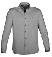 Custom Mens Hanford Long Sleeve Shirt