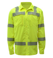 Custom ANSI/ISEA Compliant Lightweight Button Down Shirt
