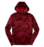 Custom CamoHex Fleece Hooded Pullover