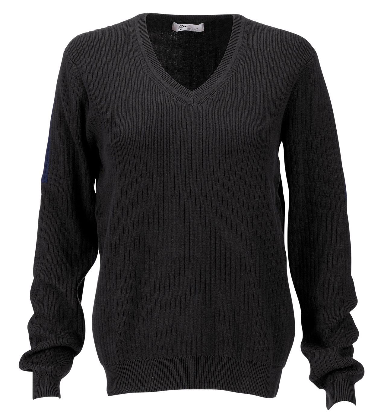 Womens V-Neck Drop-Needle Sweater
