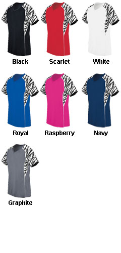 Ladies Evolution Print V-Neck - All Colors