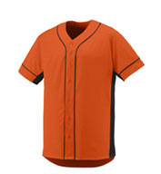 Youth Full Button Slugger  Jersey