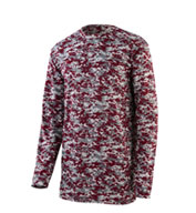 Youth Digi Camo Wicking Long Sleeve