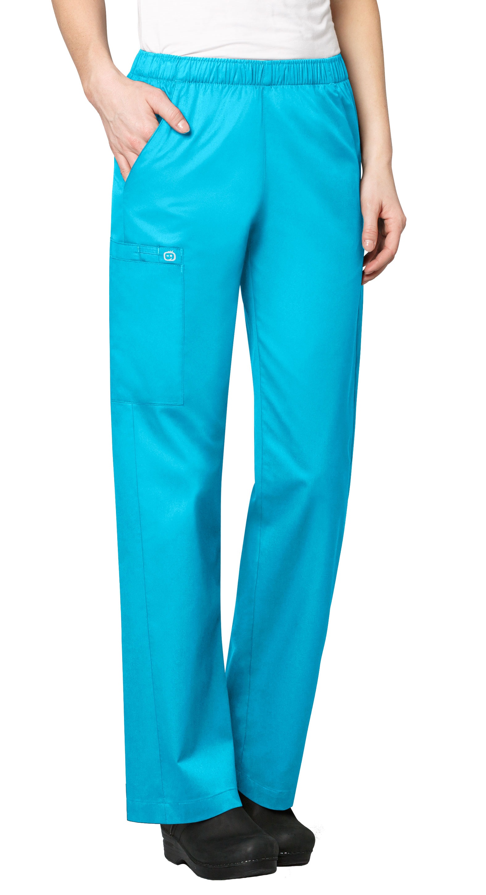 Womens Elastic Waist Pant by WonderWink�