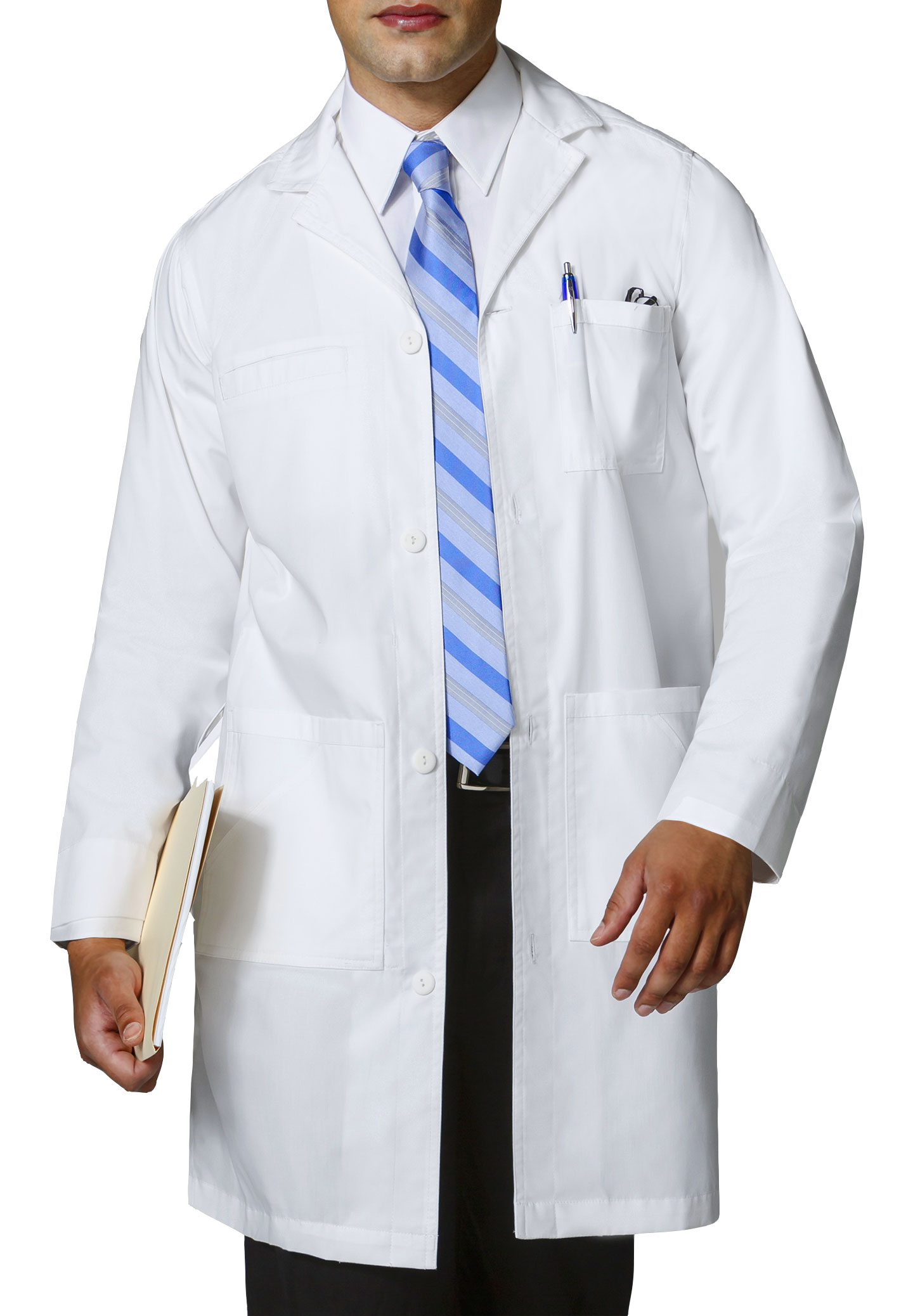WonderWink� Mens Professional Lab Coat