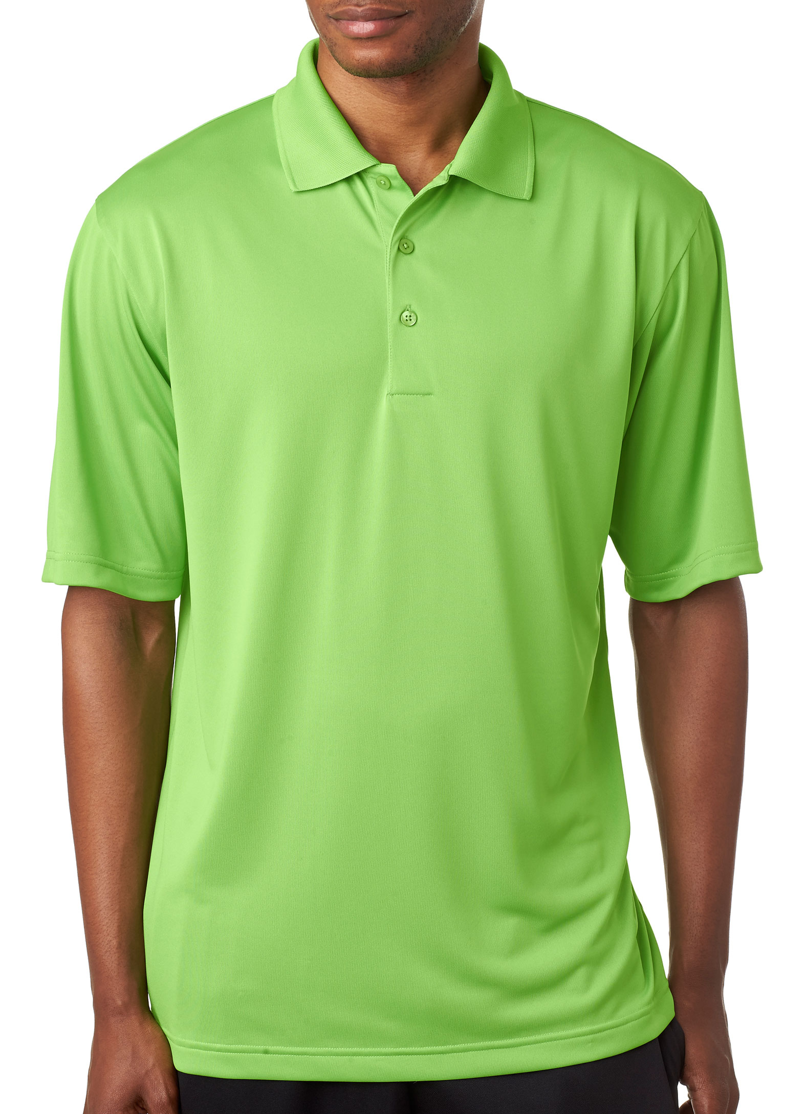 Mens Cool & Dry 8 Star Elite Performance Interlock Polo