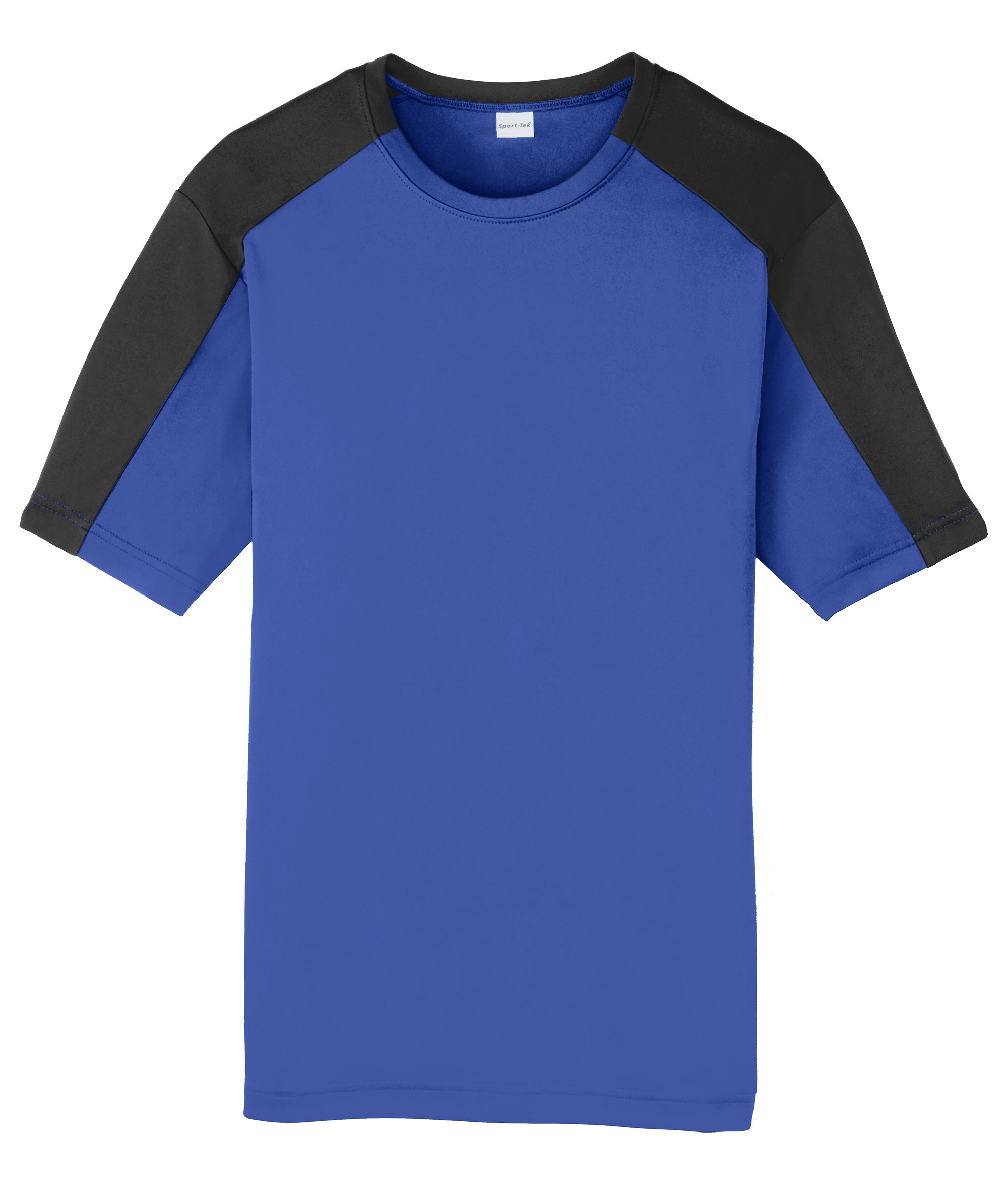 Youth Competitor Sleeve-Blocked Tee