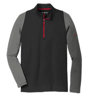 Custom Nike Golf Dri-fit Stretch 1/2-Zip Cover-Up