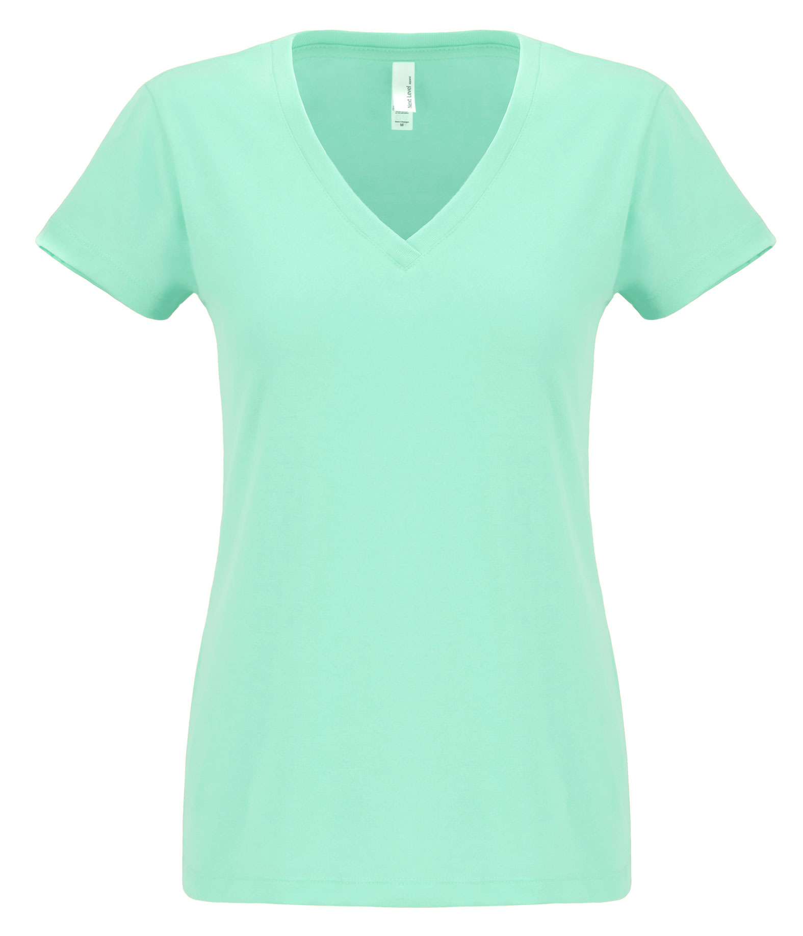 Next Level Womens Sueded Short Sleeve V