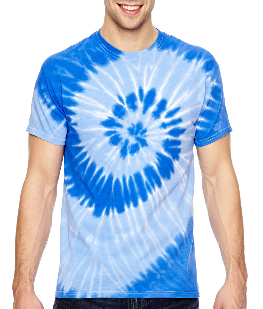 Adult Tonal Spiral Tie-Dyed T-Shirt