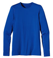 Patagonia Womens Long Sleeve Wicking Caplene® Crew Neck T-shirt