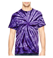 Custom Adult Team Tonal Cyclone Tie-Dyed T-Shirt