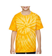 Custom Youth Team Tonal Cyclone Tie-Dyed T-Shirt