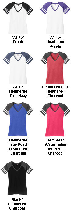 Ladies Game V-Neck Tee - All Colors