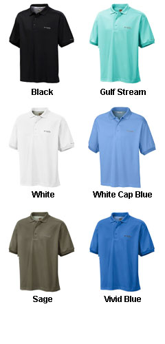 Columbia Mens Perfect Cast™ Polo - All Colors