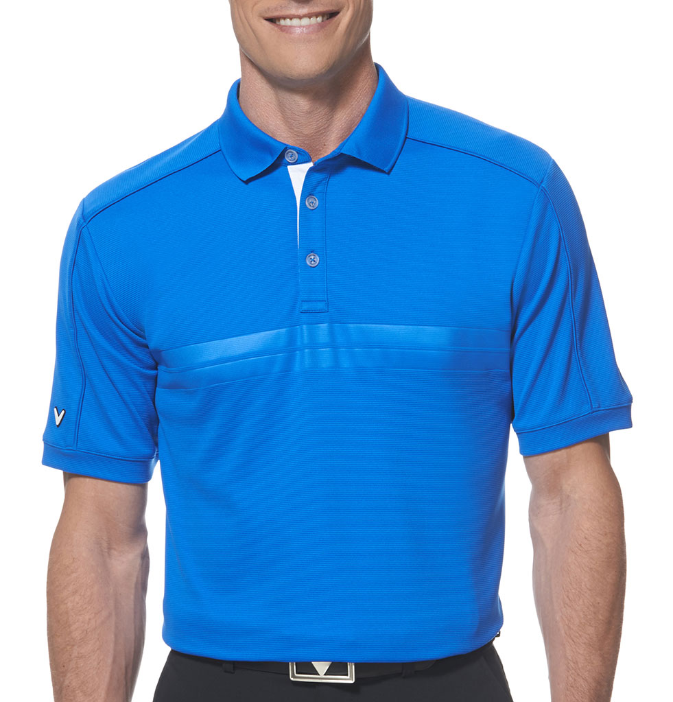 Callaway Embossed Athletic Polo