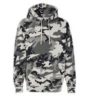 Adult Hooded Pullover Sweatshirt-Camo Colors
