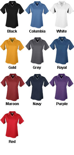 Ladies Movement Polo - All Colors
